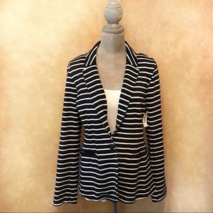 NWT Old Navy striped blazer